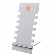 Sieraad display hout star Grey