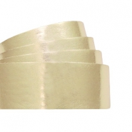 Plat 20 mm DQ leer metallic Light gold