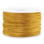 Macramé draad 1.5mm satin Golden brown