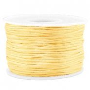 Macramé draad 1.5mm satin Cream yellow
