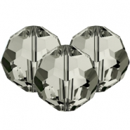 Swarovski Elements facet kralen 8mm Black diamond