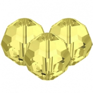 Swarovski Elements facet kralen 8mm Jonquil yellow
