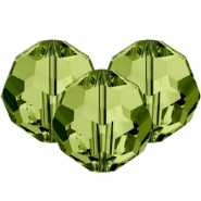 Swarovski Elements facet kralen 8mm Olivine green