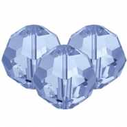 Swarovski Elements facet kralen 8mm Light sapphire