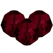 Swarovski Elements facet kralen 8mm Siam red