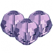 Swarovski Elements facet kralen 8mm Tanzanite purple