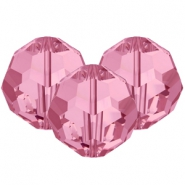 Swarovski Elements facet kralen 8mm Rose