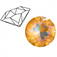 Swarovski Elements 1088-SS 39 puntsteen (8mm) Crystal ochre DeLite