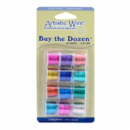 Artistic Wire 20 Gauge 12-pack assorti Multicolour