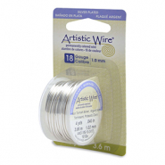 Artistic Wire 18 Gauge Tarnish Resistant Silver
