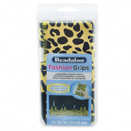 Beadalon fashion tangen etui cheetah Geel-zwart