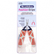 Beadalon fashion grips tangen covers giraffe Oranje-wit