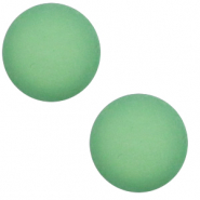 12 mm classic cabochon Polaris Elements matt Meadow green