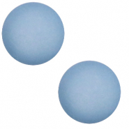 12 mm classic cabochon Polaris Elements matt Powder blue