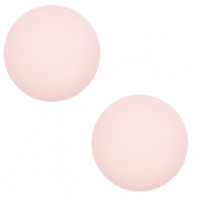 12 mm classic cabochon Polaris Elements matt Delicacy pink