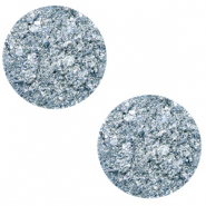20 mm platte cabochon Polaris Elements Goldstein Powder blue