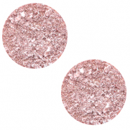 20 mm platte cabochon Polaris Elements Goldstein Cloud coral pink