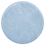 35 mm platte cabochon Polaris Elements Lively Powder blue