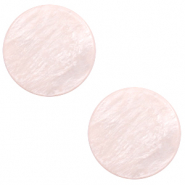 20 mm platte cabochon Polaris Elements Lively Delicacy pink