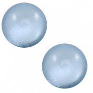 7 mm classic Cabochon Polaris Elements soft tone shiny Powder blue