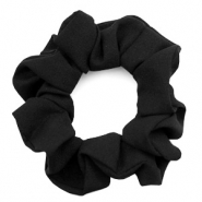 Scrunchies haarelastiek Black