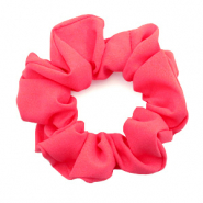 Scrunchies haarelastiek Coral red