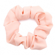 Scrunchies haarelastiek Light salmon pink