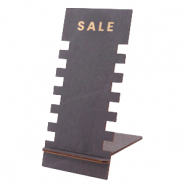 "Sieraad display hout ""SALE"" Black"
