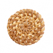 Rotan hanger rond 35mm Natural brown