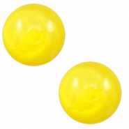 20 mm classic cabochon Polaris Elements pearl shine Empire yellow