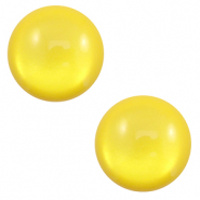 12 mm classic cabochon Polaris Elements soft tone shiny Empire yellow