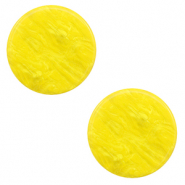 12 mm platte cabochon Polaris Elements Lively Empire yellow