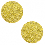 12 mm platte cabochon Polaris Elements Goldstein Empire yellow