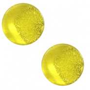 12 mm platte cabochon Polaris Elements Stardust Empire yellow
