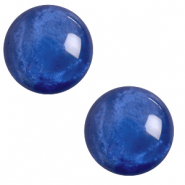 20 mm classic cabochon Polaris Elements pearl shine Iolite blue