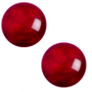 20 mm classic cabochon Polaris Elements pearl shine Rubino red