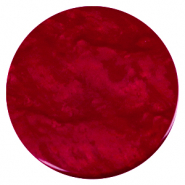 35 mm platte cabochons Polaris Elements Lively Rubino red