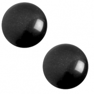 20 mm classic cabochon Polaris Elements soft tone Nero black