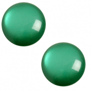 7 mm classic cabochon Polaris Elements soft tone Agata green