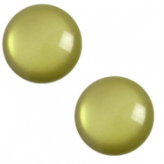 20 mm classic cabochon Polaris Elements soft tone Origano green