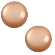 20 mm classic cabochon Polaris Elements soft tone Mandora brown