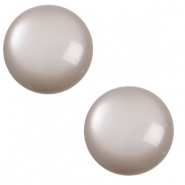 20 mm classic cabochon Polaris Elements soft tone Acciaio grey