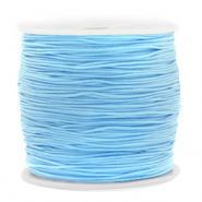 Macramé draad 0.8mm Light blue