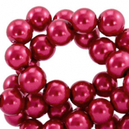 Top quality Glasparels 6mm Ruby wine red