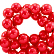 Top quality Glasparels 4mm Cherry red