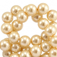 Top quality Glasparels 4mm Rich gold
