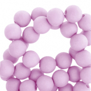 8 mm acryl kralen matt Orchid bloom lilac