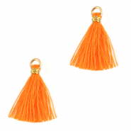 Kwastjes 1.5cm Gold-flame orange