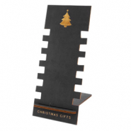 "Sieraad display hout ""Christmas Gifts"" Black"