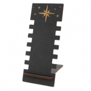 "Sieraad display hout ""Stars"" Black"